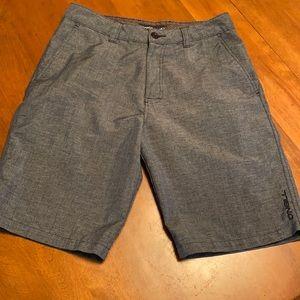 O'Neill men's size 30 charcoal shorts